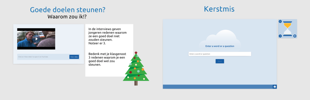 Kerstmis bovenbouw 2