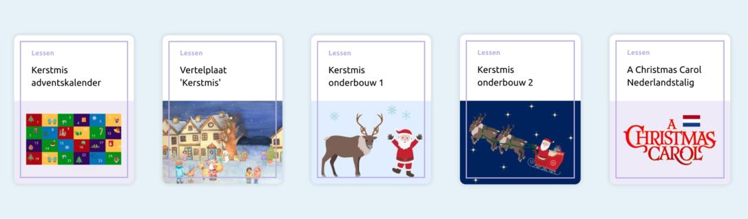 Themakaart Kerstmis