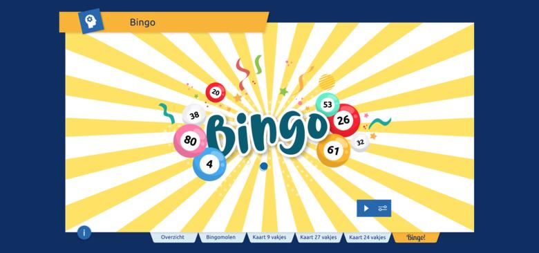 Bingo splashscreen