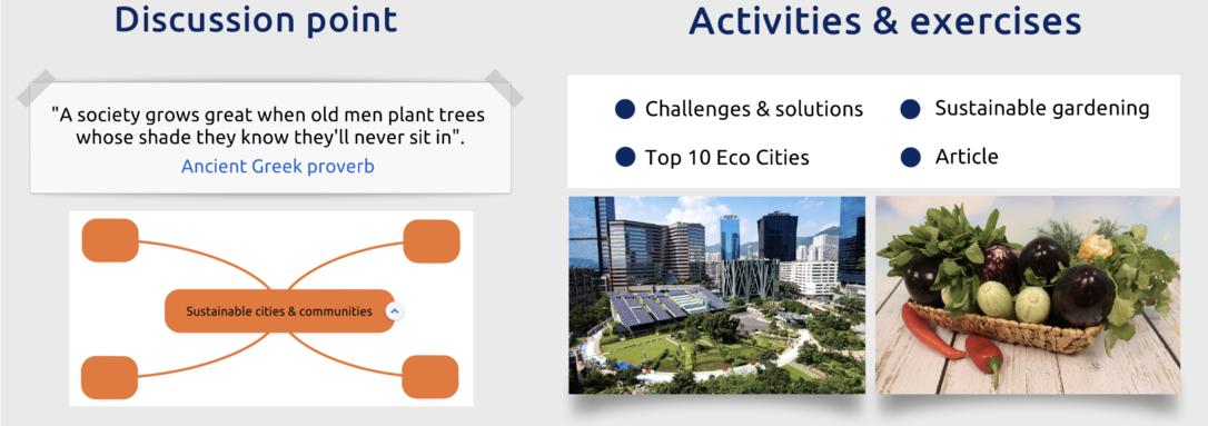 SDG 11 - Sustainable cities & communities