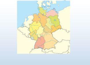 Topographie Deutschland Übungsmodus