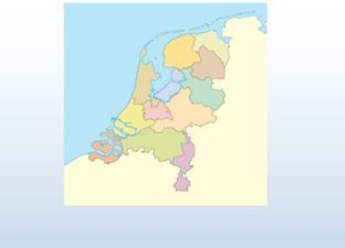Topographie Niederlanden