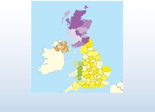 Topografie Verenigd Koninkrijk oefenmodus