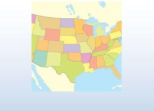 Topografie Verenigde Staten