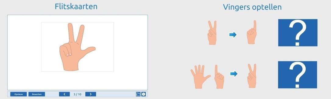 Rekenen met vingerbeelden